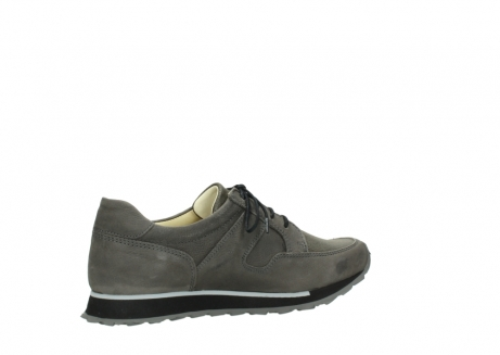 wolky chaussures a lacets 05800 e walk 20201 cuir stretch anthracite_11