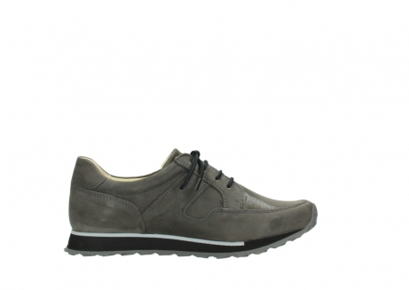 wolky chaussures a lacets 05800 e walk 20201 cuir stretch anthracite_13