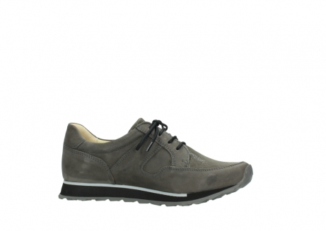 wolky chaussures a lacets 05800 e walk 20201 cuir stretch anthracite_14