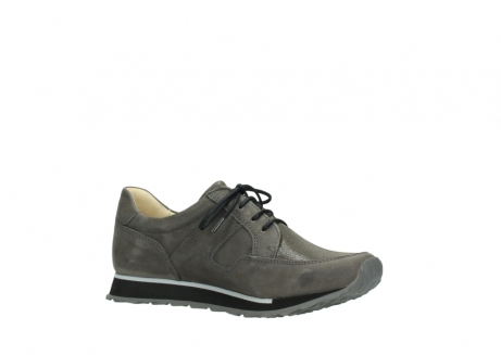 wolky chaussures a lacets 05800 e walk 20201 cuir stretch anthracite_15
