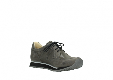 wolky chaussures a lacets 05800 e walk 20201 cuir stretch anthracite_16