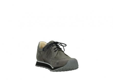 wolky chaussures a lacets 05800 e walk 20201 cuir stretch anthracite_17