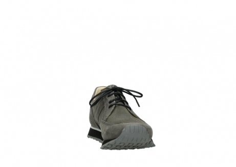 wolky chaussures a lacets 05800 e walk 20201 cuir stretch anthracite_18