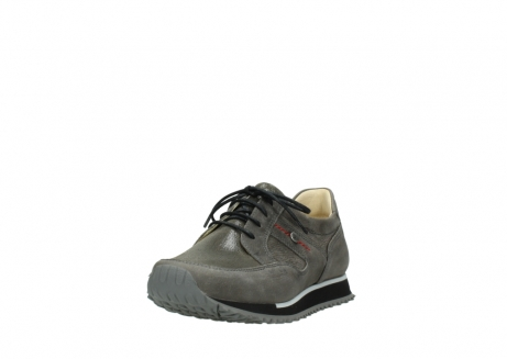 wolky chaussures a lacets 05800 e walk 20201 cuir stretch anthracite_21
