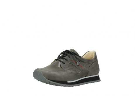 wolky chaussures a lacets 05800 e walk 20201 cuir stretch anthracite_22