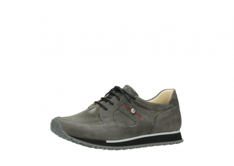 wolky chaussures a lacets 05800 e walk 20201 cuir stretch anthracite_23