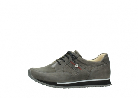 wolky chaussures a lacets 05800 e walk 20201 cuir stretch anthracite_24