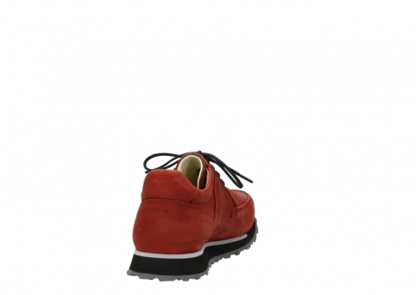 wolky lace up shoes 05800 e walk 20540 winter red stretch leather_8