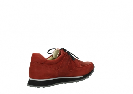 wolky lace up shoes 05800 e walk 20540 winter red stretch leather_10