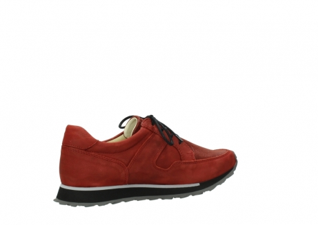 wolky lace up shoes 05800 e walk 20540 winter red stretch leather_11