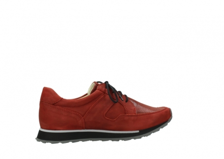 wolky lace up shoes 05800 e walk 20540 winter red stretch leather_12