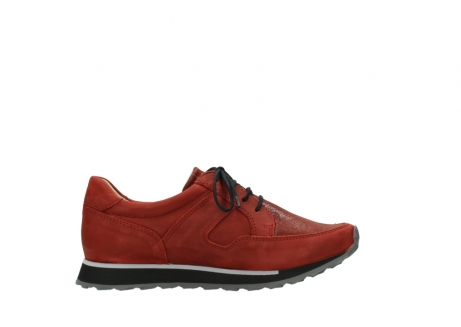 wolky lace up shoes 05800 e walk 20540 winter red stretch leather_13