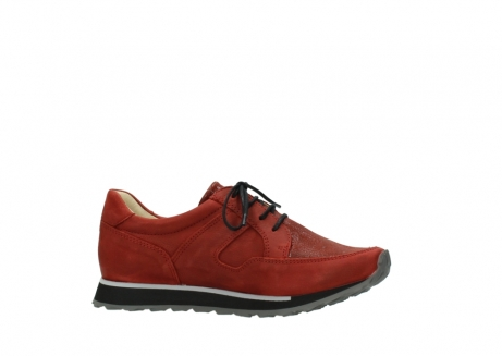 wolky lace up shoes 05800 e walk 20540 winter red stretch leather_14