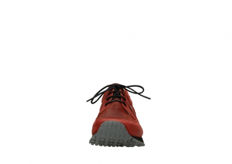 wolky lace up shoes 05800 e walk 20540 winter red stretch leather_19