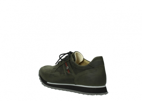 wolky chaussures a lacets 05800 e walk 20730 suede stretch forest_4