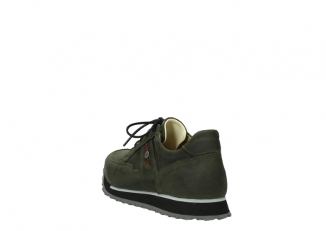wolky chaussures a lacets 05800 e walk 20730 suede stretch forest_5