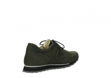 wolky chaussures a lacets 05800 e walk 20730 suede stretch forest_10