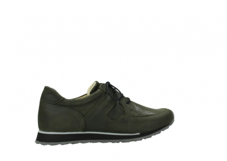 wolky chaussures a lacets 05800 e walk 20730 suede stretch forest_12