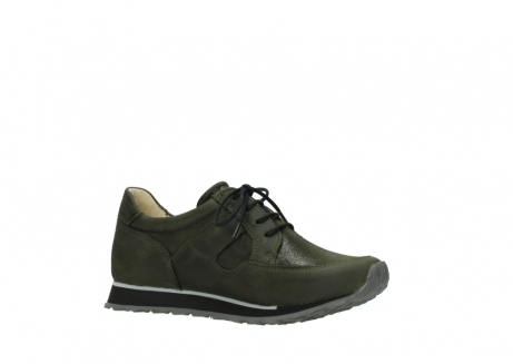 wolky chaussures a lacets 05800 e walk 20730 suede stretch forest_15