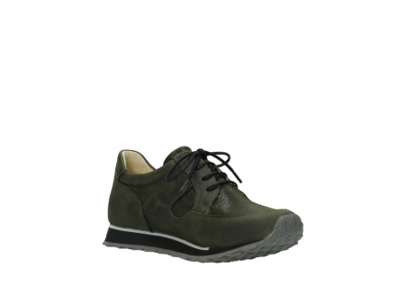 wolky chaussures a lacets 05800 e walk 20730 suede stretch forest_16