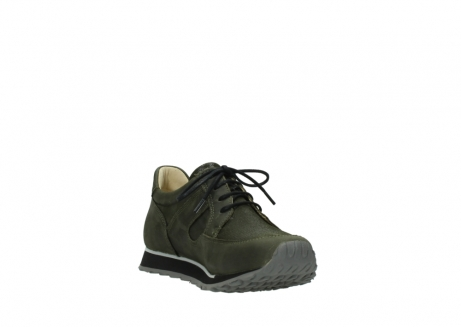 wolky chaussures a lacets 05800 e walk 20730 suede stretch forest_17