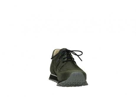 wolky chaussures a lacets 05800 e walk 20730 suede stretch forest_18