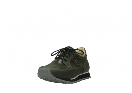 wolky chaussures a lacets 05800 e walk 20730 suede stretch forest_21