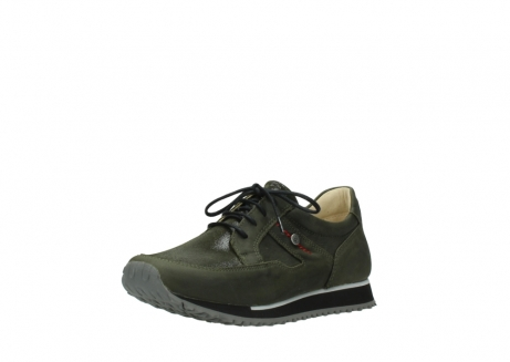 wolky chaussures a lacets 05800 e walk 20730 suede stretch forest_22
