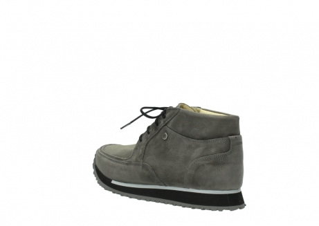 wolky lace up boots 05802 e boot 20201 dark grey stretch leather_4