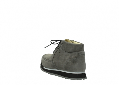 wolky lace up boots 05802 e boot 20201 dark grey stretch leather_5