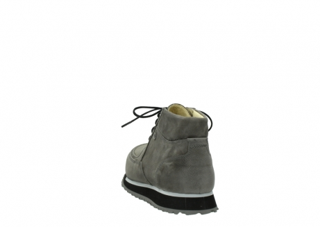 wolky lace up boots 05802 e boot 20201 dark grey stretch leather_6