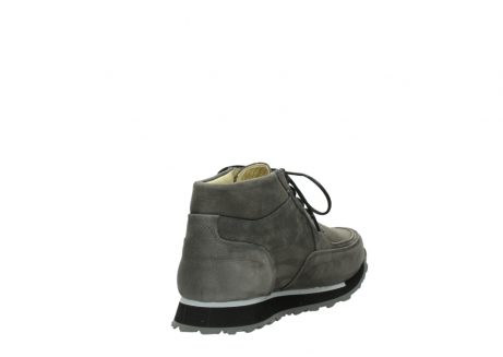 wolky lace up boots 05802 e boot 20201 dark grey stretch leather_9