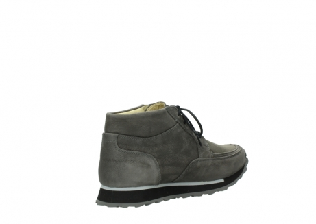wolky lace up boots 05802 e boot 20201 dark grey stretch leather_10