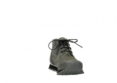wolky lace up boots 05802 e boot 20201 dark grey stretch leather_18