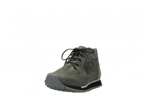 wolky lace up boots 05802 e boot 20201 dark grey stretch leather_21