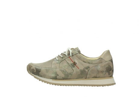 wolky chaussures de marche 05804 e walk 30939 cuir extensible camouflage_1