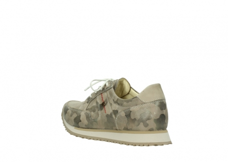 wolky chaussures de marche 05804 e walk 30939 cuir extensible camouflage_4