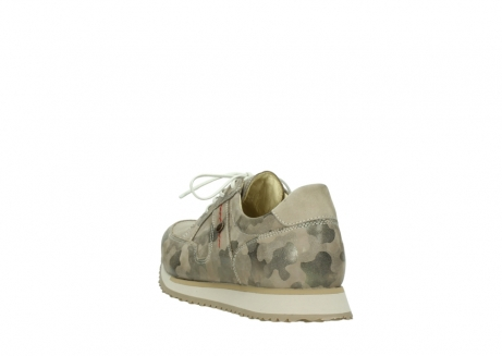 wolky chaussures de marche 05804 e walk 30939 cuir extensible camouflage_5
