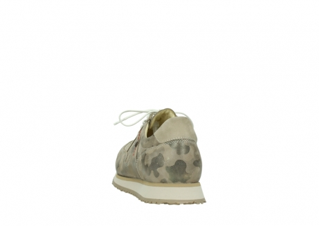 wolky chaussures de marche 05804 e walk 30939 cuir extensible camouflage_6