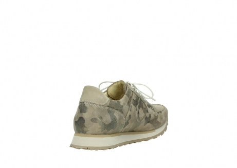 wolky chaussures de marche 05804 e walk 30939 cuir extensible camouflage_9