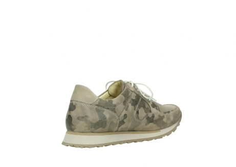 wolky chaussures de marche 05804 e walk 30939 cuir extensible camouflage_10