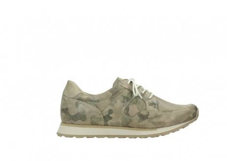 wolky chaussures de marche 05804 e walk 30939 cuir extensible camouflage_13
