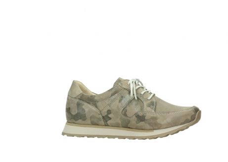 wolky chaussures de marche 05804 e walk 30939 cuir extensible camouflage_14