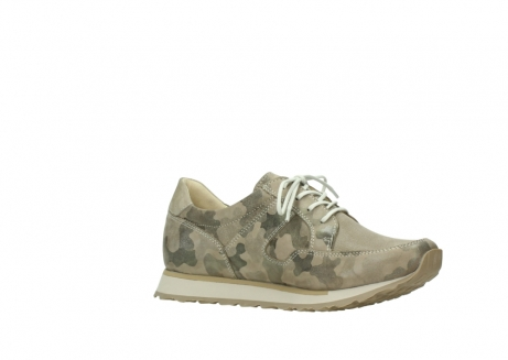 wolky chaussures de marche 05804 e walk 30939 cuir extensible camouflage_15