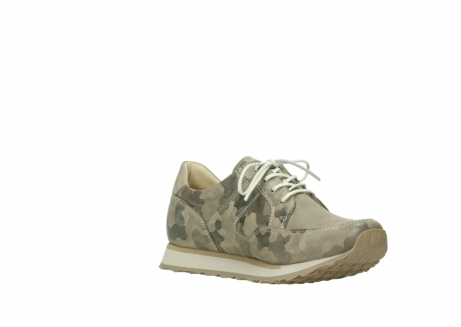 wolky chaussures de marche 05804 e walk 30939 cuir extensible camouflage_16
