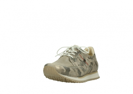 wolky chaussures de marche 05804 e walk 30939 cuir extensible camouflage_21