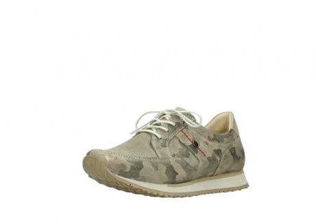 wolky chaussures de marche 05804 e walk 30939 cuir extensible camouflage_22