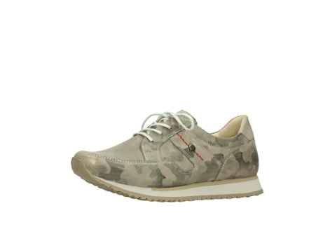 wolky chaussures de marche 05804 e walk 30939 cuir extensible camouflage_23