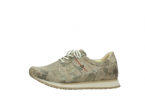 wolky chaussures de marche 05804 e walk 30939 cuir extensible camouflage_24