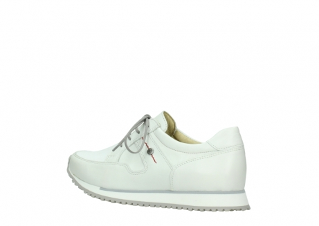 wolky walking shoes 05804 e walk 70100 white stretch leather_3
